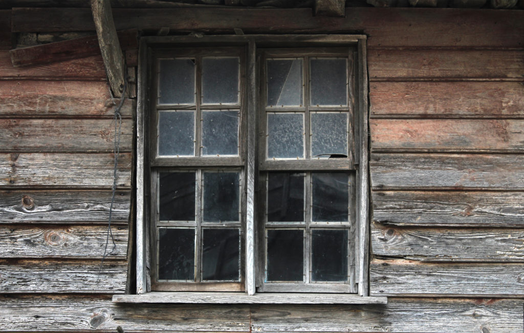 Window of the old house